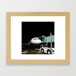 DUDE, where's my plane? Framed Art Print