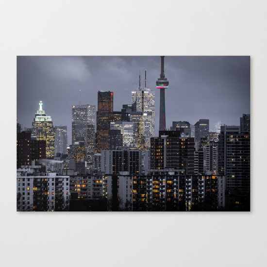 City night ville Canvas Print