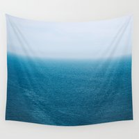 abyss Wall Tapestries featuring Abyss by emmacanfield