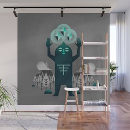 Behold Wall Mural