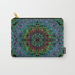 Boho Vibe Festival Psychedelic Hippie Bohemian Yoga Mantra Meditation Carry-All Pouch
