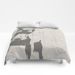 CURIOUS WEIMARANER Comforters