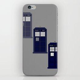 The Materializing TARDIS iPhone Skin