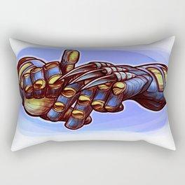 LA Claw Man Rectangular Pillow