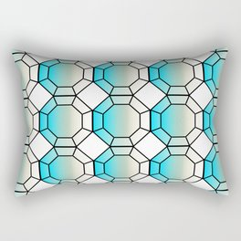 Gridular Rectangular Pillow