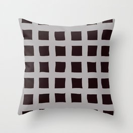 Square Parts Throw Pillow