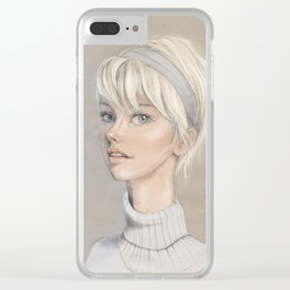 Lizzy Clear iPhone Case