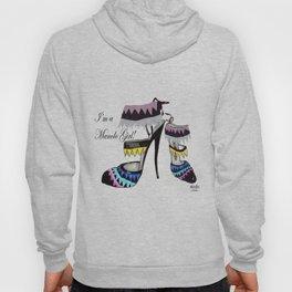 Fashion Shoe Illustration - Anastasia  Hoody
