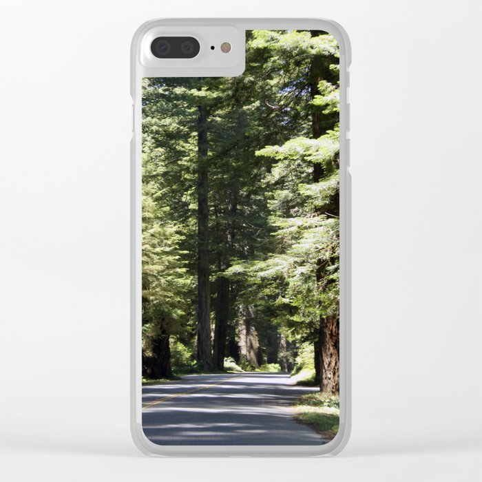 Humboldt State Park Road Clear iPhone Case