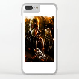 Dread Doctors Clear iPhone Case