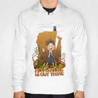 adventure is out there Hoodies featuring Adventure by BlancaJP
