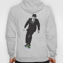 Work can wait when it's time to skate. Hoody