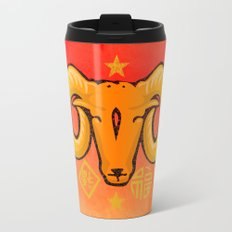 Year of the Ram (distressed) Travel Mug