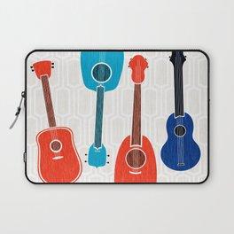 Americana Guitars ~ Mid Century Pop Art Laptop Sleeve