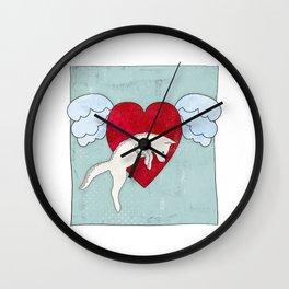 Love the Fox Wall Clock