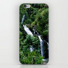 Hello Waterfalls iPhone & iPod Skin