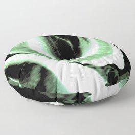 Green dream Floor Pillow