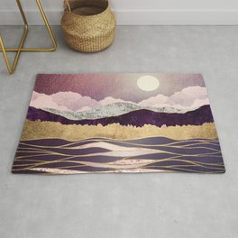 Lunar Waves Rug