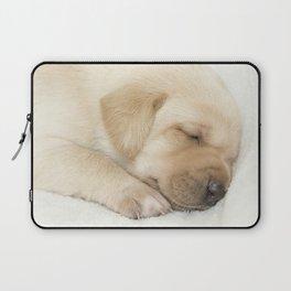 Sleeping labrador puppy Laptop Sleeve