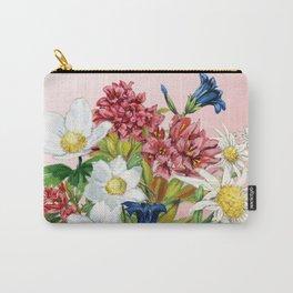 Alpine Blush Bouquet 2 Carry-All Pouch