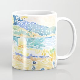 """Henri-Edmond Cross """"Pines on the Coastline"""" Coffee Mug"""