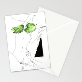 GreenHair Stationery Cards