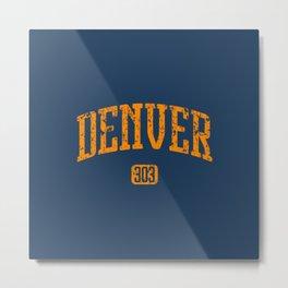 Denver 303 Metal Print