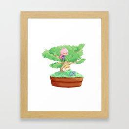 Bonsai Buddies Framed Art Print