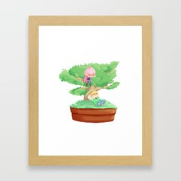 Bonsai Buddies Framed Art Print