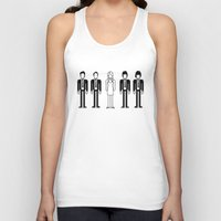 blondie Tank Tops featuring Blondie by Band Land