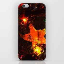 Dark Santa iPhone Skin