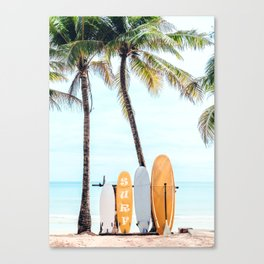 Choose Your Surfboard Canvas Print