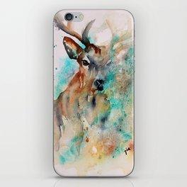 Abstract Deer Watercolor iPhone Skin
