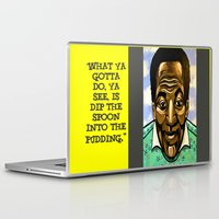 bill Laptop & iPad Skins featuring Bill Cosby by Portraits on the Periphery