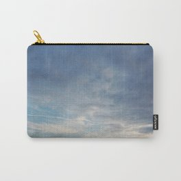 Clouds finger painted by Angels Carry-All Pouch