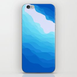 Icy Abyss iPhone Skin
