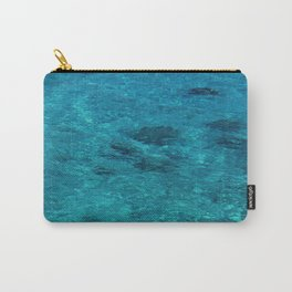 Tahiti Tropical Waters in Peaceful Lagoon of Silence Carry-All Pouch