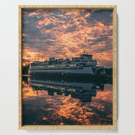 Friday Harbor Ferry Serving Tray