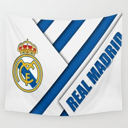 Real Madrid My Best Football Team Wall Tapestry