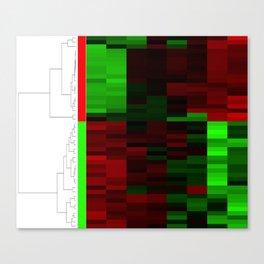 Christmas Coral Genes Canvas Print