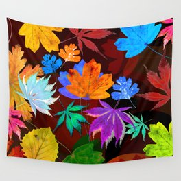 Leaves-001 Wall Tapestry