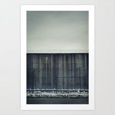 Prison Wall II Art Print