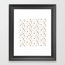 Cat Family (Smaller Cats) Framed Art Print