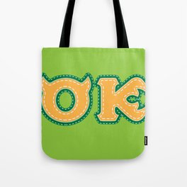 Monster University Fraternity : Oozma Kappa Tote Bag