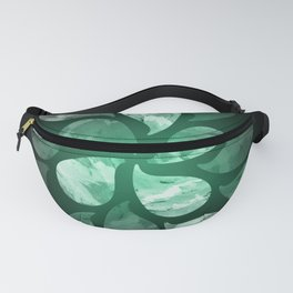 Abstract Water Drops XXX Fanny Pack