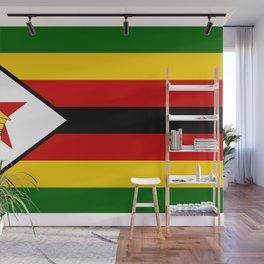 Flag of Zimbabwe Wall Mural