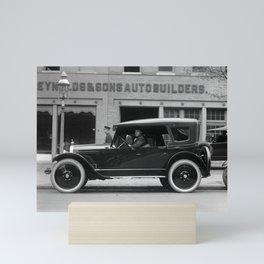 Vintage Automobile - Circa 1922 Mini Art Print