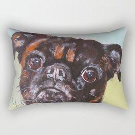 Brussels Griffon Rectangular Pillow