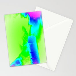 Color Explosion Panel Art #1 Stationery Cards