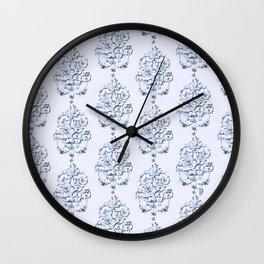 Hand painted victorian romance pattern Wall Clock